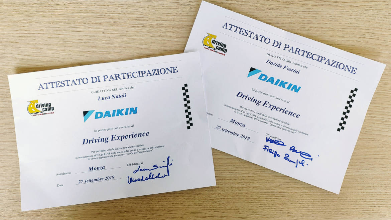 Teknoclima alla Driving Experience Daikin